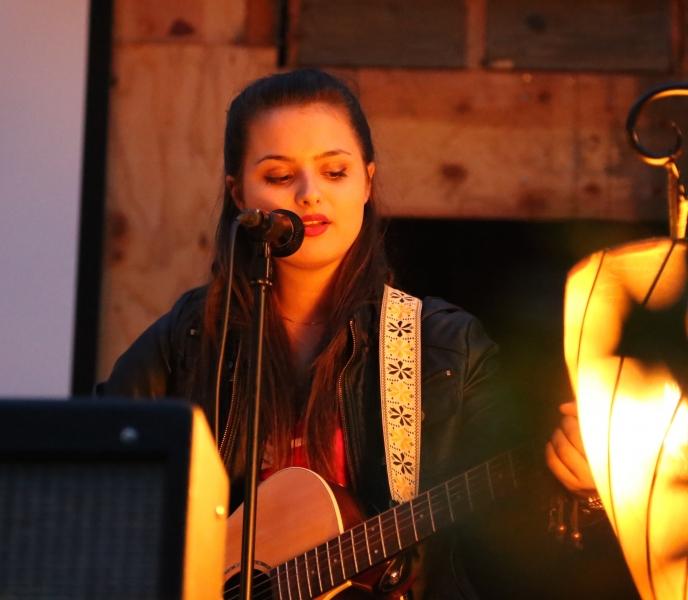 Kate Grahn Performing