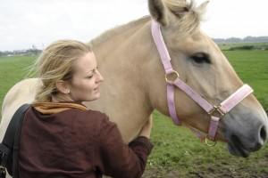 Jen and Prince horse