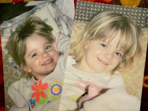 Kristi Hooper lost her twin 3-year-old daughters, Caroline, left, and Madison, when her estranged husband killed them and then committed suicide. (Source: USA Today)