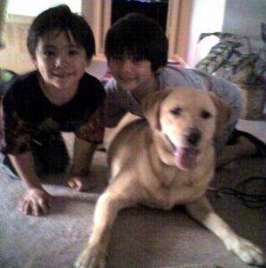 Duncan, Jack & the dog