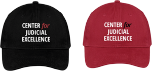 CJE Caps Black and Red